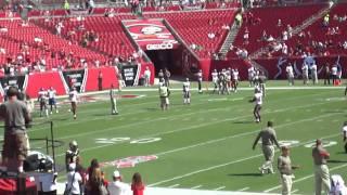 Raymond James Stadium in Tampa, FL.MP4