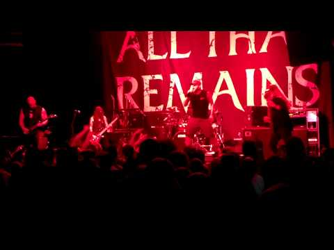 All That Remains-Stand up - Summit Music Hall Denver