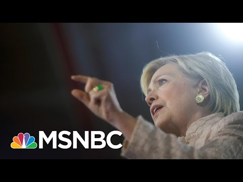 Right Wing Stokes Weird, Fake Hillary Clinton Theory | Rachel Maddow | MSNBC