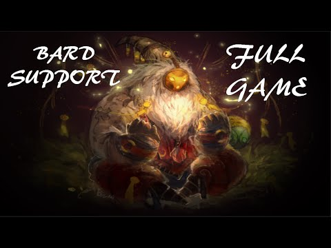 League Of Legends-Bard Support (Full Game With Commentary)