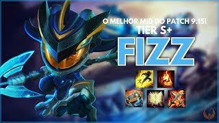 O MELHOR MID DO PATCH 9.15 *TIER S+* - FIZZ MID GAMEPLAY RANKED [PT-BR]