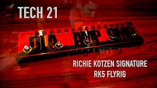 TECH 21 RK5 Richie Kotzen Flyrig, demo by Pete Thorn