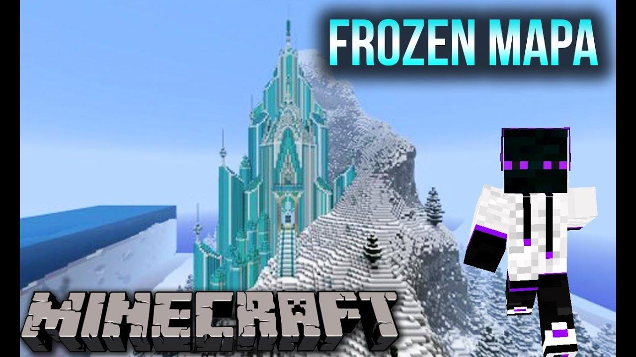 Minecraft 1 9 1 8 9 1 8 Mapa De Frozen Elsa 180 S Ice