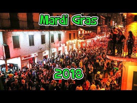 New Orleans Mardi Gras 2018
