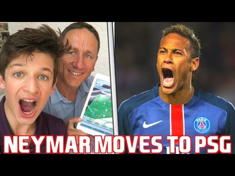 Thumbnail: NEYMAR AGREES TO JOIN PSG FOR £200 MILLION #NewSeries