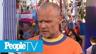 Red Hot Chilli Peppers Bassist Flea Talks About His 'Meta' Role in 'Toy Story 4'   PeopleTV