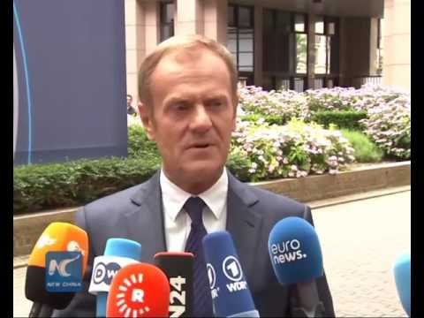 Tusk: No talks over UK's future relations with EU until notification
