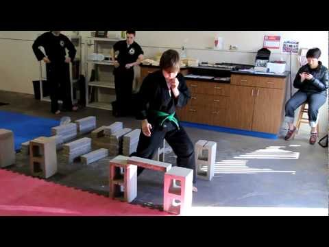 Martial Arts for Kids in Monument, CO: Breaking Bricks I