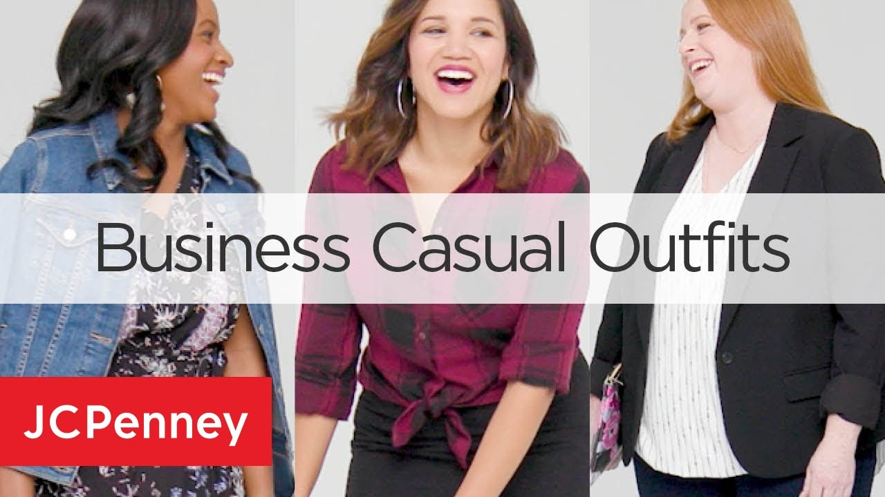 Work Outfit Ideas Business Casual Attire For Women Jcpenney Youtube