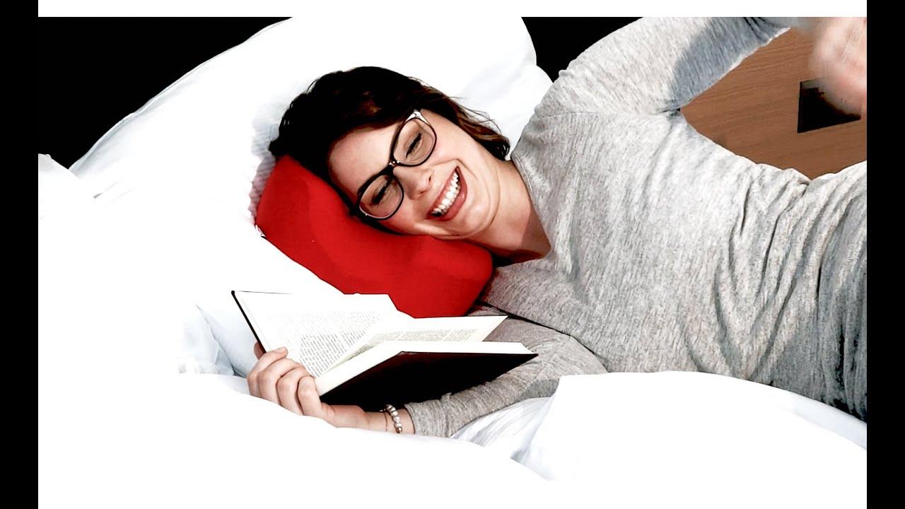 eyePAD® das neue Kissen für Brillenträger CH / www.eyepad.ch