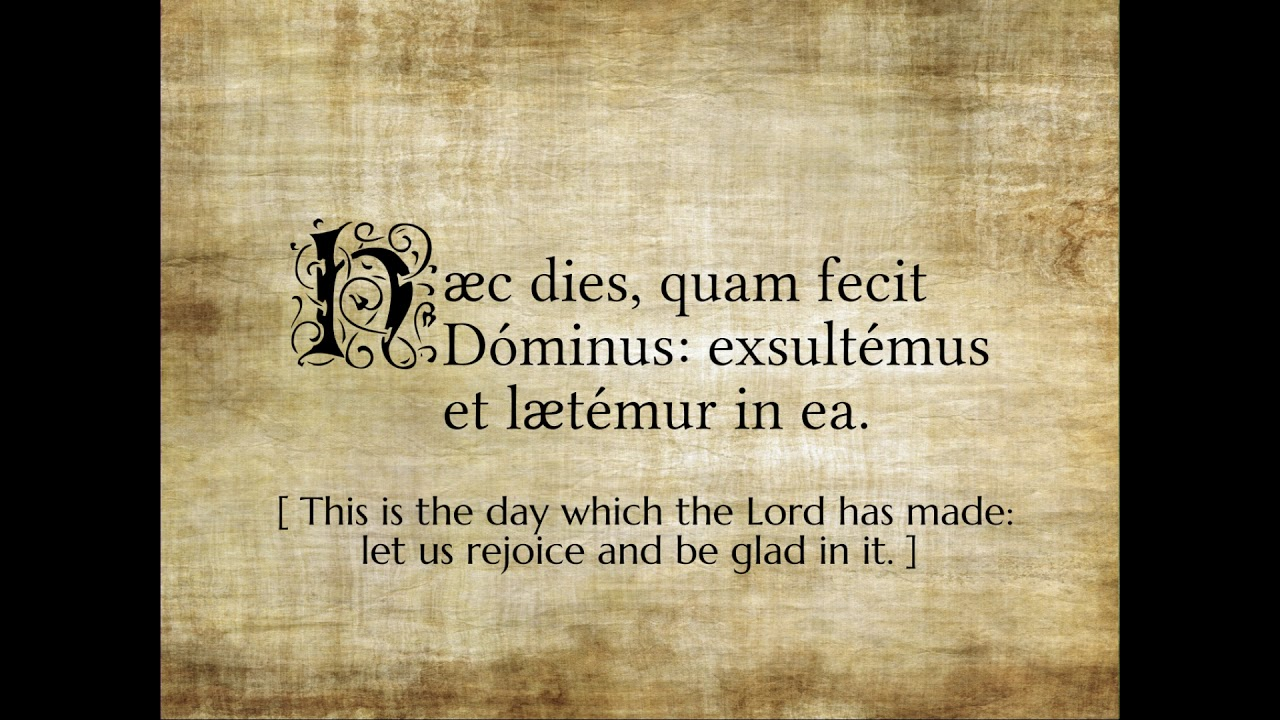 Easter Greetings From The Cebuano Summorum Pontificum Society Youtube