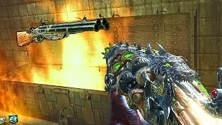 MOB OF THE DEAD REIMAGINED w/ NEW BOSS & BURIED WITCHES! Call of Duty Zombies Mod Gameplay