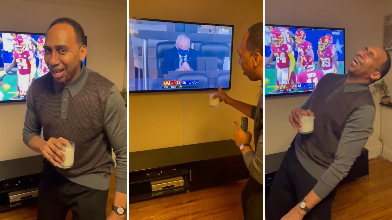 Stephen A Smith Laughs At Dallas Cowboys & Jerry Jones After Losing To Washington On Thanksgiving!