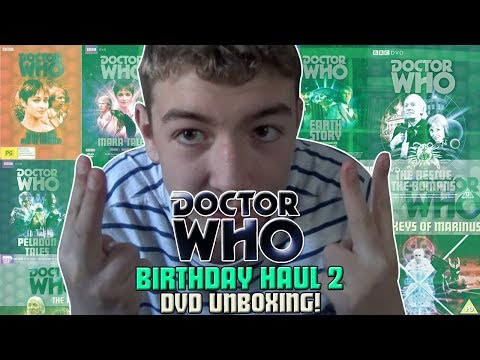 Doctor Who DVD Unboxing #9 Birthday Haul 2!