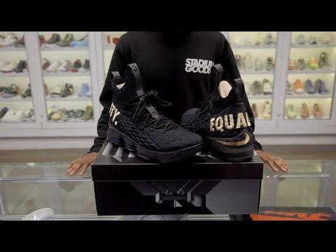 1fa5c48fe7e The rarest Nike LeBron 15 released by Nike.