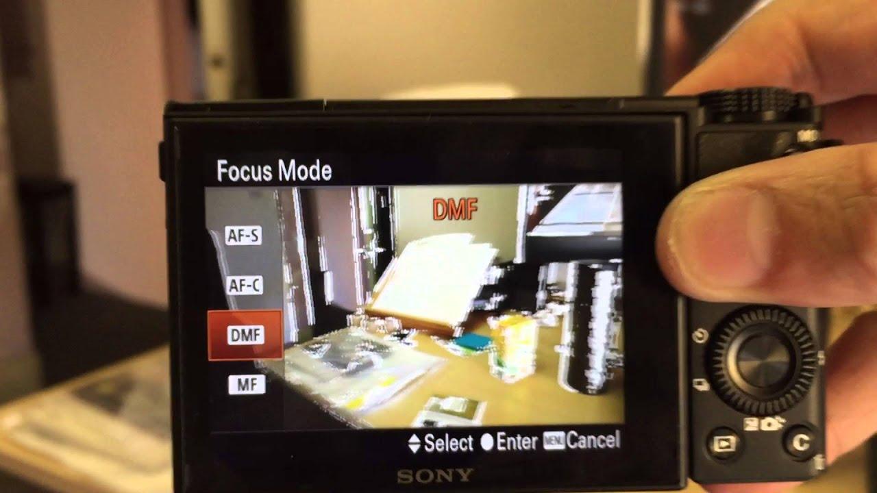 sony rx100 mk 3 manual focus problem viewfinder death rx100 rh youtube com Sony RX100 Vi Sony RX100 V