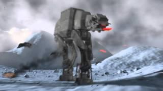 Star Wars AT-AT Walker 3D Max Animation