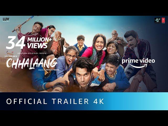 Chhalaang Official Trailer | Rajkummar Rao, Nushrratt Bharuccha | Hansal Mehta | Nov 13