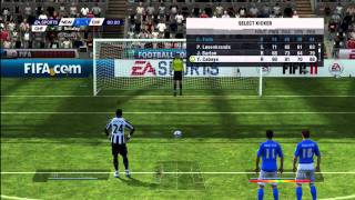 FIFA 11 FA Cup challenge Ep003: Newcastle VS Chesterfield
