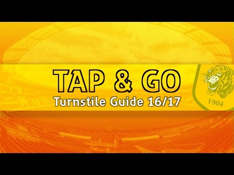How To | Tap & Go Turnstiles At The KCOM Stadium