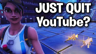 Deleting my YouTube? Because a scammer said to...😭😂 (Scammer Get Scammed) Fortnite Save The World