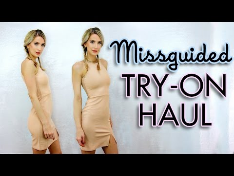 Missguided TRY ON HAUL | Tall Girl Problems
