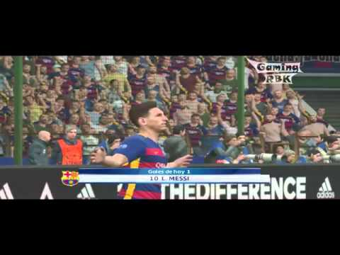 Pes 2016 - Barcelona Vs.  Manchester United 3-4
