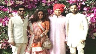 Anil Ambani Family Together At Akash Ambani And Shloka Mehta Wedding