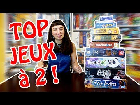 Mon Top 10 des jeux de société pour 2 joueurs - Lola