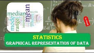Graphical Representation of Data STATISTICS IN HINDI