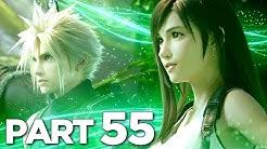 PROFESSOR HOJO AND AERITH in FINAL FANTASY 7 REMAKE Walkthrough Gameplay Part 55 (FF7 REMAKE)