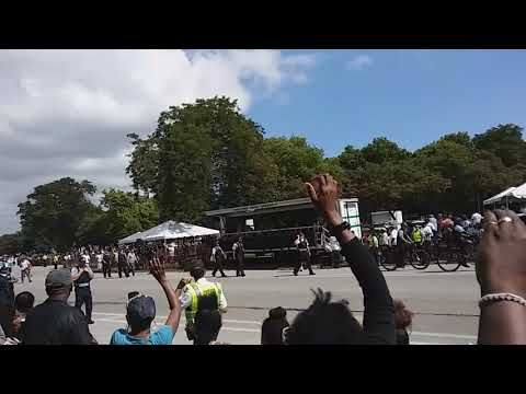 Chance the Rapper at the Bud Billiken Day Parade