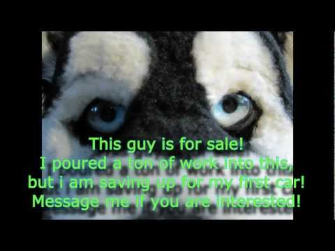 Husky mascot mask for sale! * SOLD