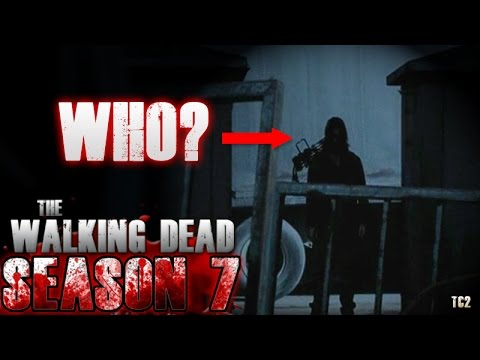 The Walking Dead Season 7 Episode 15 - Who Was It Rosita Saw?