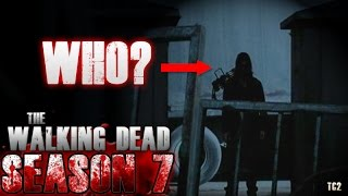 The Walking Dead Season 7 Episode 15 - Who Was It Rosita Saw?