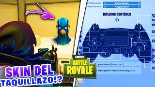 THE NEW SKIN OF THE BOX OFFICE!? FORTNITE: Battle Royale + New Configuration FOR XBOX ONE AND PS4!