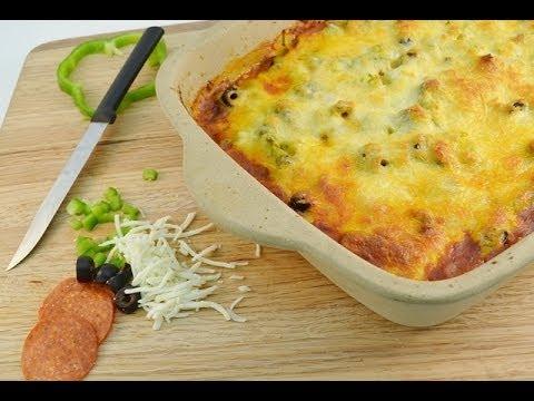 pizza-casserole-recipe---baked-pizza-pasta-dish-|-radacutlery.com