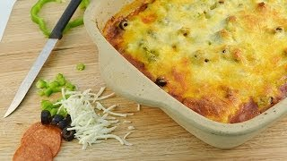 Pizza Casserole Recipe - Baked Pizza Pasta Dish | Radacutlery.com