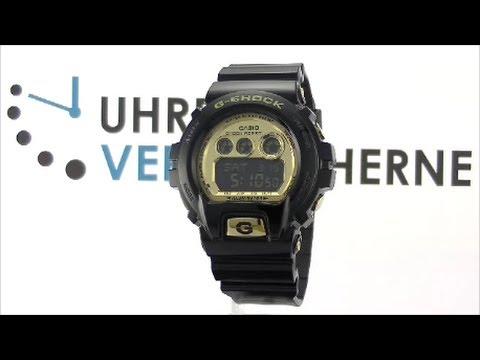 Casio Uhr Gold Schwarz