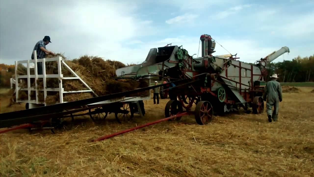 Image result for old threshing machines