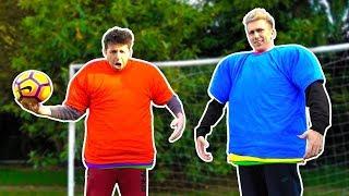 REVERSE STRIP FOOTBALL CHALLENGE vs SIMON