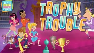 Fresh Beat Band of Spies – Trophy Trouble (Fun Game for Kids)