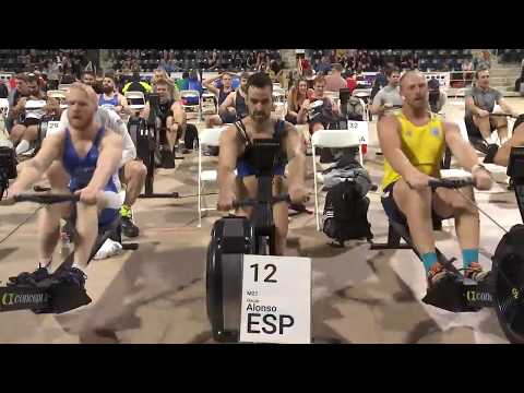 2019 World Rowing Indoor Champs. Masters 2000m Races: LM27, LM36, M27, M36