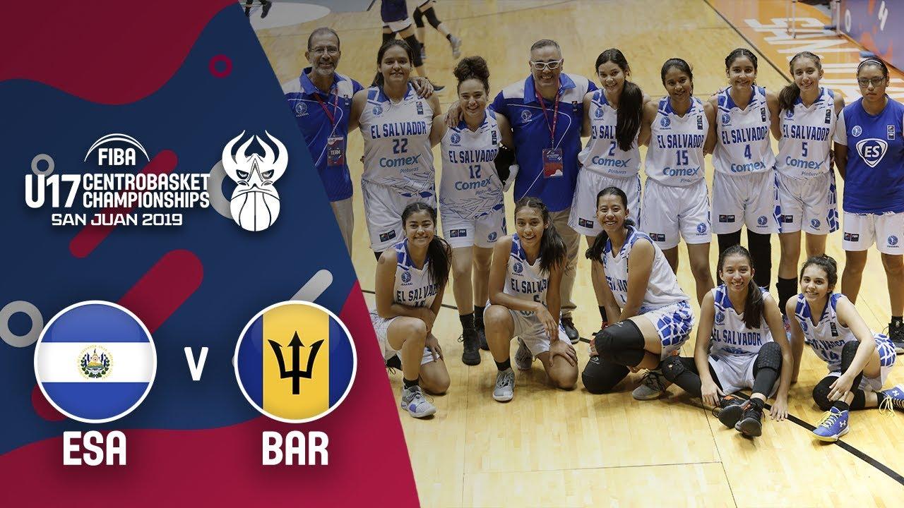 El Salvador v Barbados - Full Game
