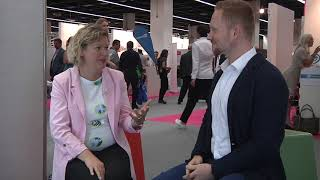 Instahelp interview (short) at the Zukunft Personal Europe 2018