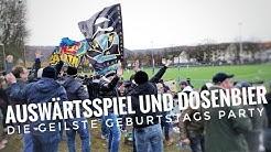 Die geilste Fußball Geburtstagsparty beim Auswärtsspiel VfB Dillingen - TuS Koblenz Fußball Blog