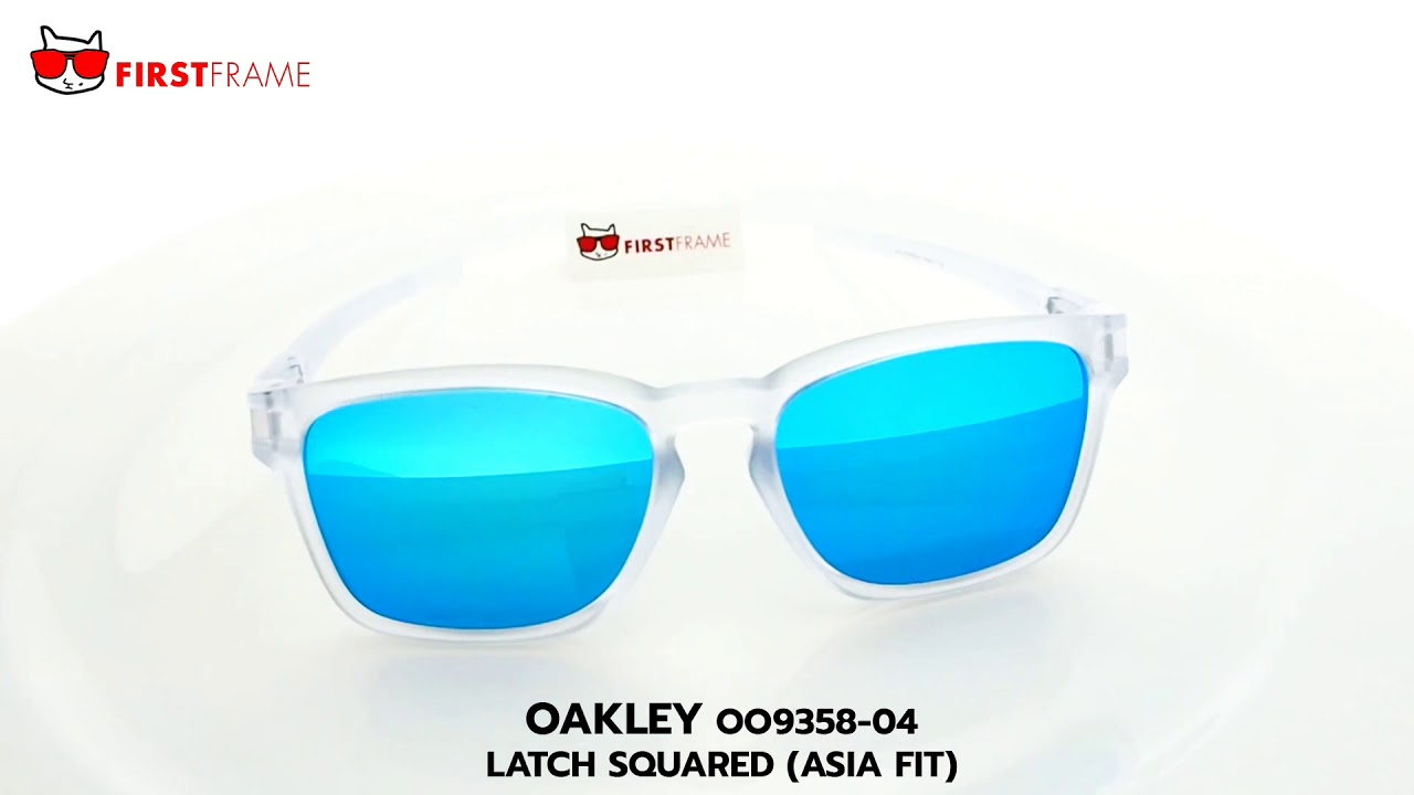 75dacb2e4d0 OAKLEY OO9358-04 LATCH SQUARED (ASIA FIT) - YouTube