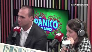 Eduardo Bolsonaro x Amanda (Pânico na rádio): desarmamento