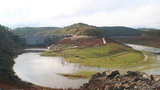 Début remplissage du lac de Guerlédan - 8 novembre 2015