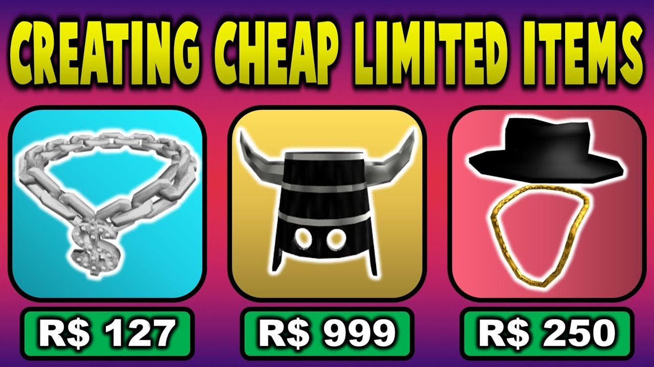 Creating Cheap Versions Of Expensive Limited Hats Roblox Youtube